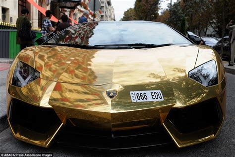 expensive cars gold gold lamborghini worth 163 4m pictured in could be
