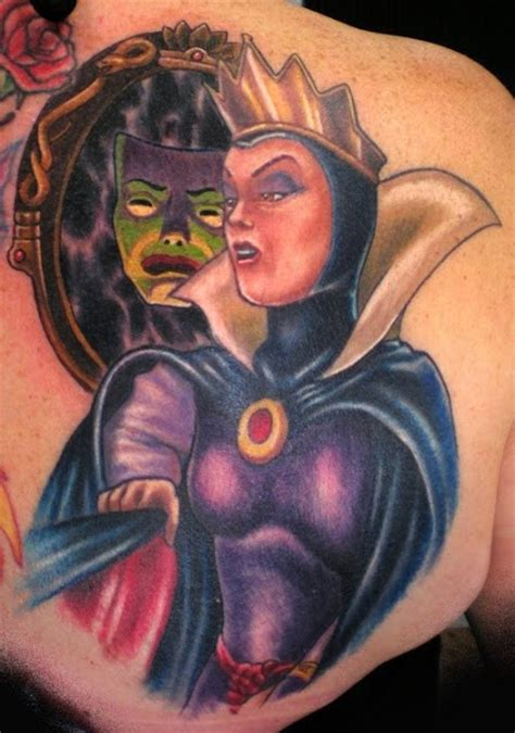 tattoo evil queen filmic light snow white archive evil queen and poison