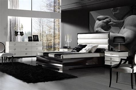 grey wallpaper masculine modern masculine bedroom designs