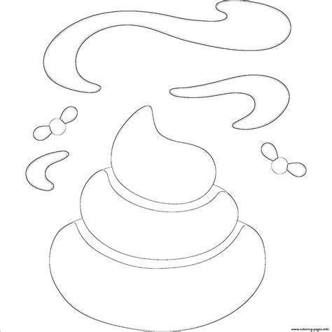 poop emoji coloring page poop emoji emoticon hard coloring pages printable