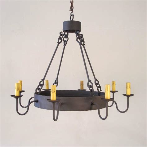 iron ring chandelier iron ring chandelier large for sale at 1stdibs