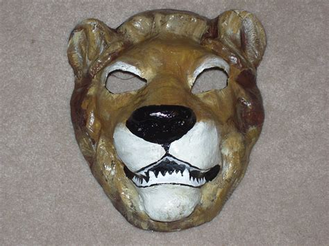 Masks With Paper Mache - papier mache mask by pineywoodcrafts on etsy