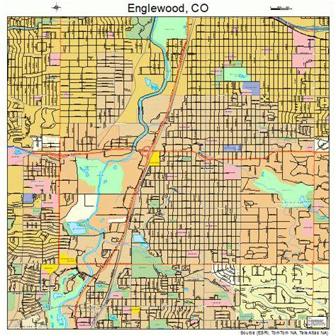 map of englewood colorado englewood colorado map 0824785