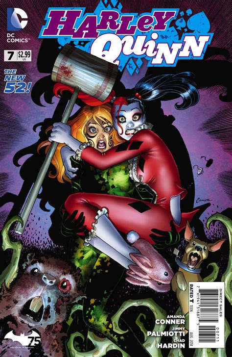 harley quinns cover gallery 1401274234 harley quinn vol 2 7 dc database fandom powered by wikia