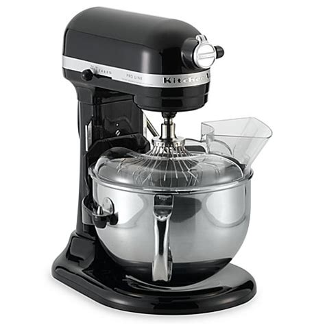bed bath and beyond mixers kitchenaid 174 proline 6 quart stand mixer black bed