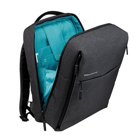 xiaomi backpack mi minimalist style polyester backpack for school business travel