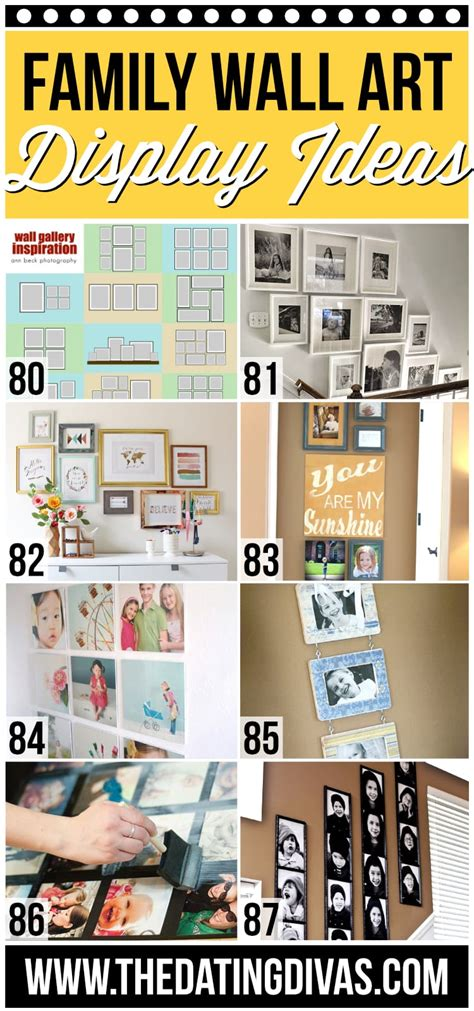 how to display family pictures 101 family picture tips ideas the dating divas
