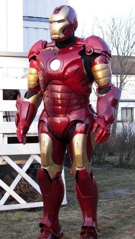 cool stuff custom iron man costume film