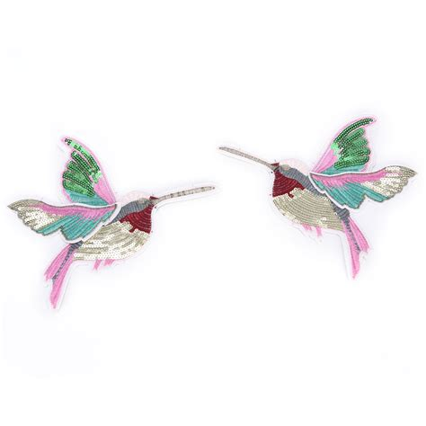 Patchwork Iron - sale diy bird patchwork embroidered patches iron on