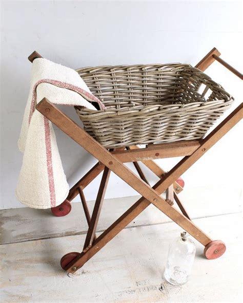 vintage wooden rolling cart  lovintagefinds  etsy