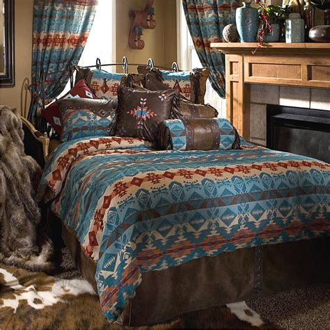 Turquoise Comforter Sets by Turquoise Chamarro Bedding Set