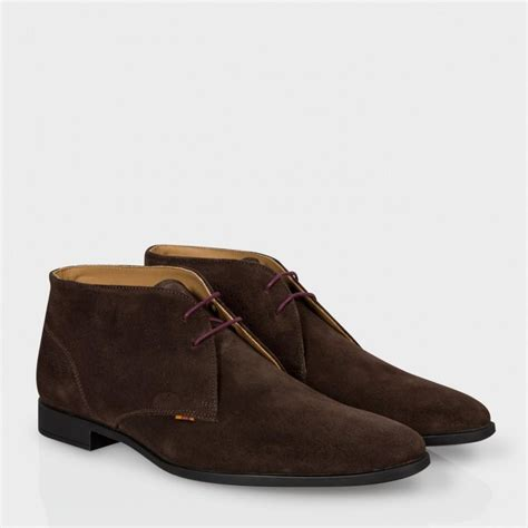 smith mens boots paul smith s brown suede wilkinson desert boots