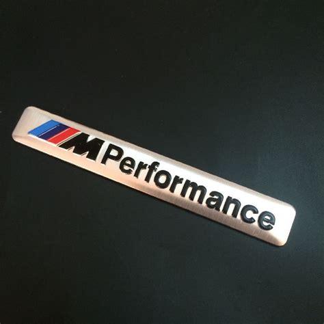 Sticker Emblem Sport Utk Variasi Mo 1x car styling 85x12mm motosport m power performance car