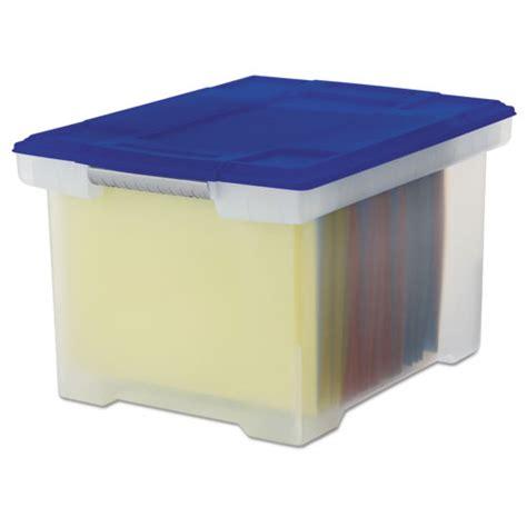 plastic file box stx61508u01c storex plastic file tote storage box zuma