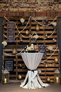 rustic country wedding decor ideas deer pearl flowers