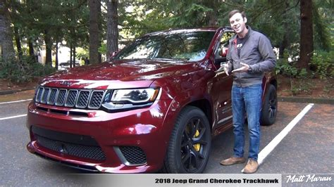 2018 Jeep Grand Review by Review 2018 Jeep Grand Trackhawk