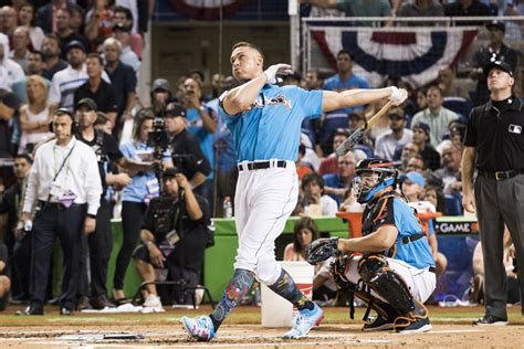 yankees aaron judge wins home run derby level pundit