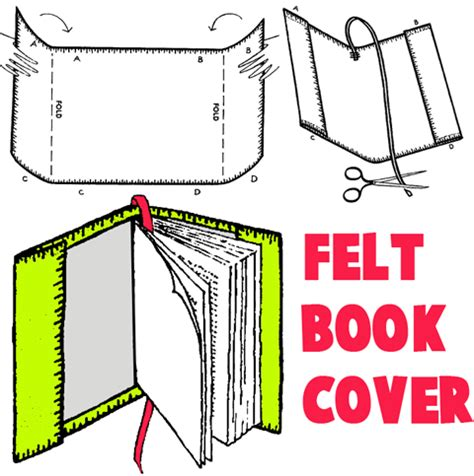 How To Make Book Covers Out Of Paper Bags - how to make a book cover out of wrapping paper 28 images