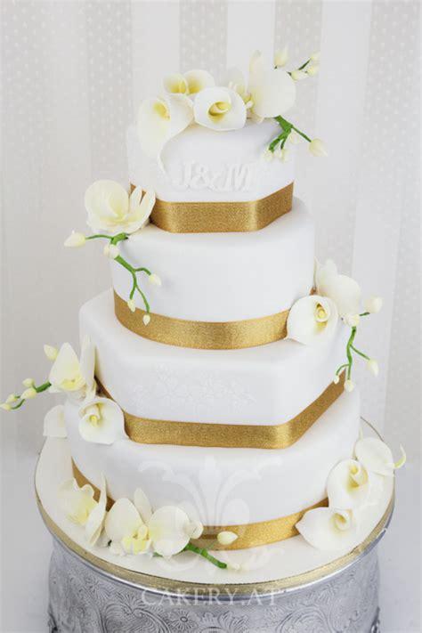 Hochzeitstorte Gold Wei hochzeitstorte wei 223 gold suche wedding