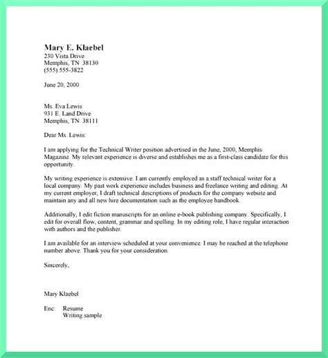 Cover Letter For Writing the general for writing cover letters