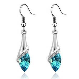 teardrop earrings swarovski elements teardrop earrings only 4 55 shipped addictedtosaving