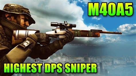 Tshirt Sniper M40a5 sniper sunday m40a5 highest dps sniper rifle battlefi
