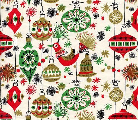 vintage christmas gift wrap christmas fun pinterest