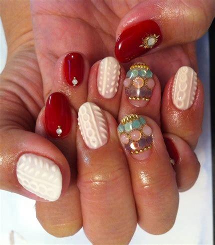 knitted nail art tutorial knit sweater nail nail art gallery