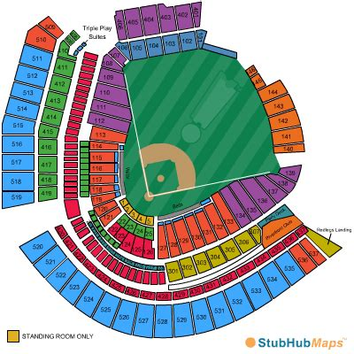 cincinnati reds seating chart with seat numbers the great american ballpark seating chart