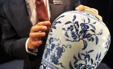 vasi cinesi di valore da 15 mila a 7 milioni l asta record vaso della