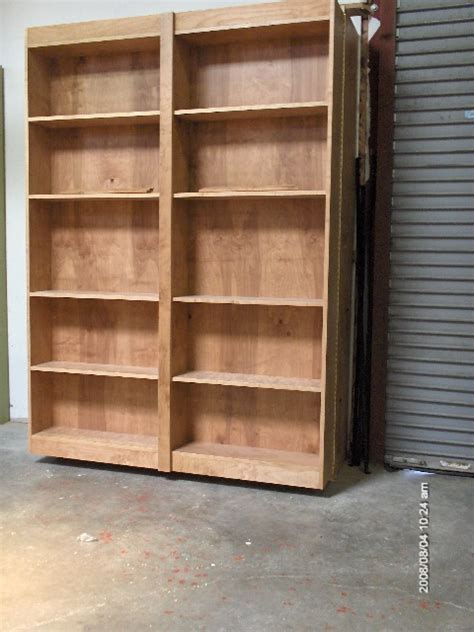 bookcase wall bed plans  woodworking