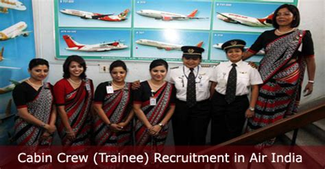 cabin crew vacancies cabin crew trainee recruitment in air india cabin crew