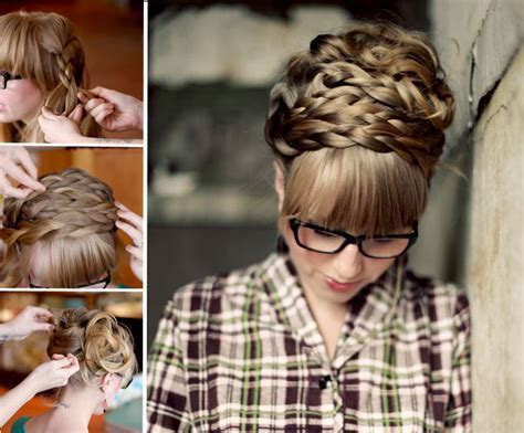 braided hairstyles do it yourself long hair updos easy to do yourself