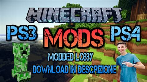 mod in minecraft ps4 minecraft ps3 ps4 mods enchantments e armi moddate