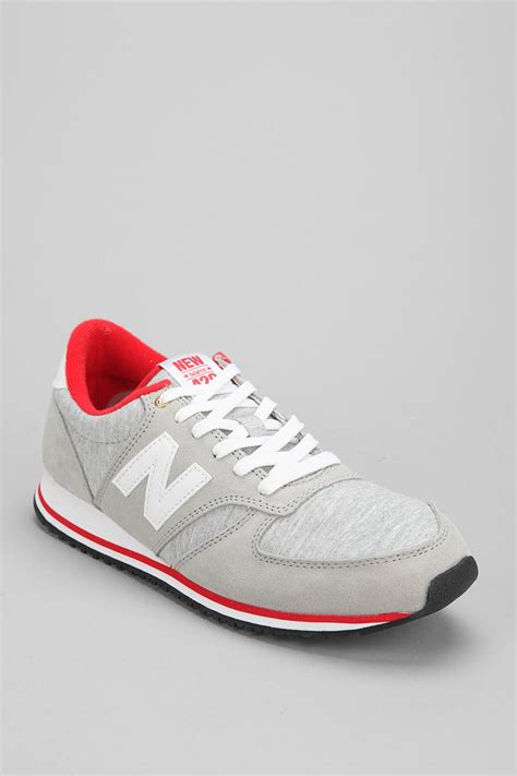 lyst new balance classic 420 jersey sneaker in gray for