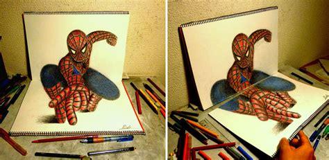 cara desain 33 ilustrasi pensil 3d realistis keren yang harus kamu lihat