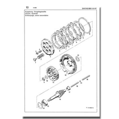 Sachs Motor 506 4 Akf by Schreiber Zweiradshop De Ersatzteilliste Sachs 506 4 Akf