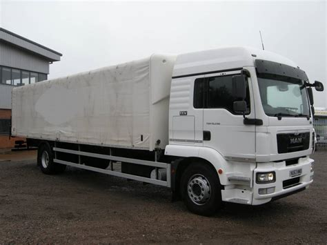 used curtain side trucks for sale used man tgm18 290 curtain side trucks year 2013 price