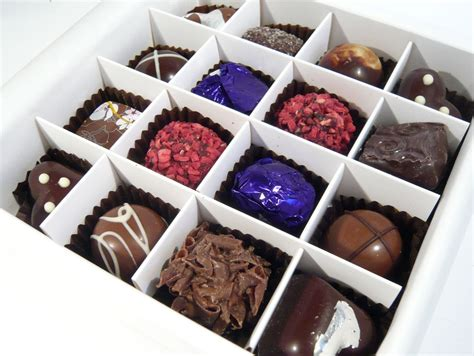 Handmade Chocolate Boxes - chococo s gift set chocolate review