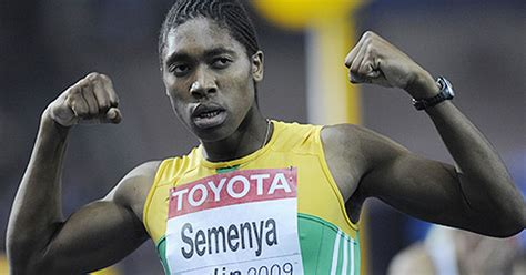 caster semenya is a man caster semenya has no ovaries and lots of testosterone and