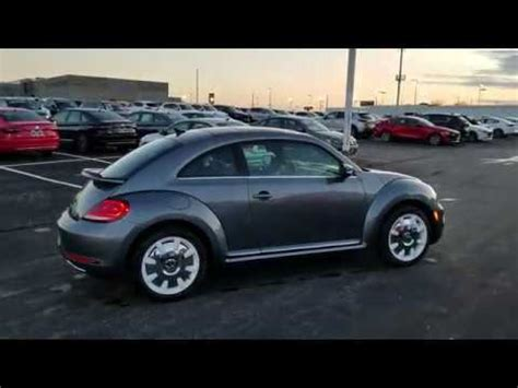 vw beetle  sel final edition discontinued   model year youtube