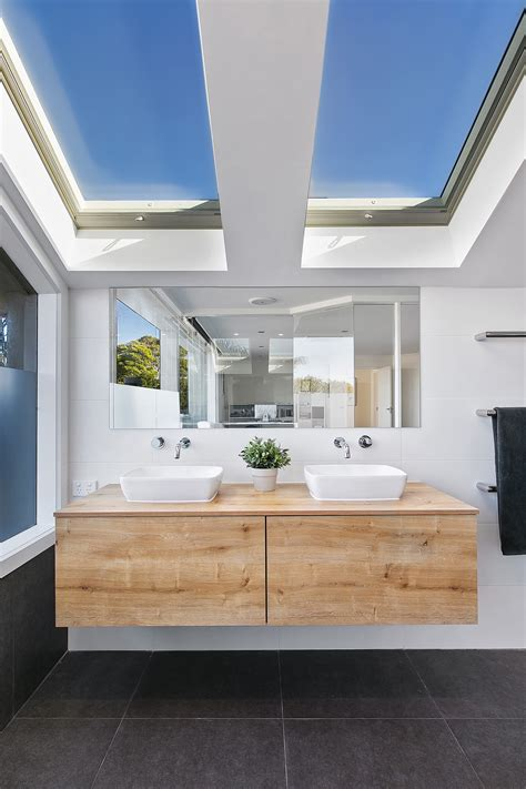 bathroom skylights melbourne design ideas atlite roof windows natural openable imanada how to repair a leaky roof vent pipe flashing water leak