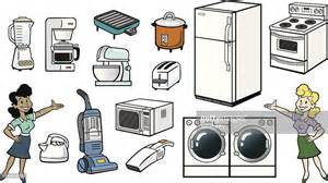 household items household items vector art getty images