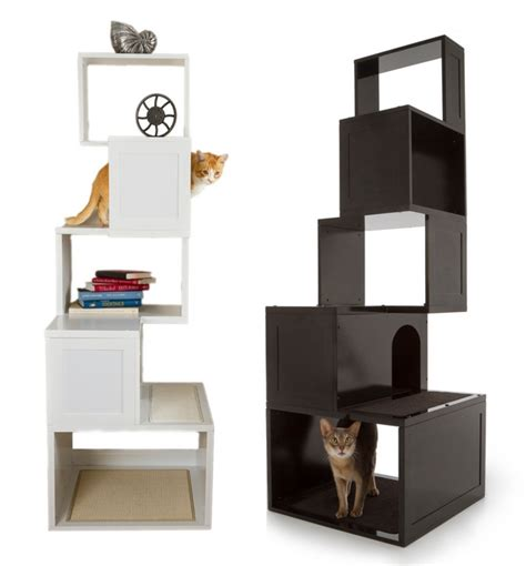 stylish cat furniture modern cat tree furniture images