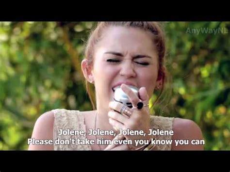 jolene backyard sessions miley cyrus music videos