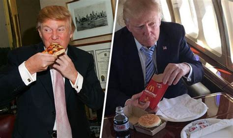 donald trump diet donald trump supersize diet revealed can you out eat the