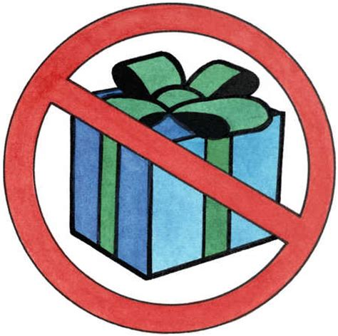 stock illustration no presents