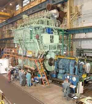 Heat W B at sea b w released new me b series engine in
