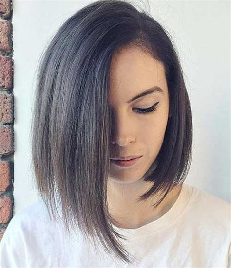 asymetrical bob for fine hair short hairstyle options for fine haired ladies short