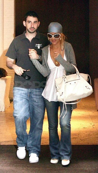 Aguileras Balenciaga Handbag aguilera white balenciaga purse